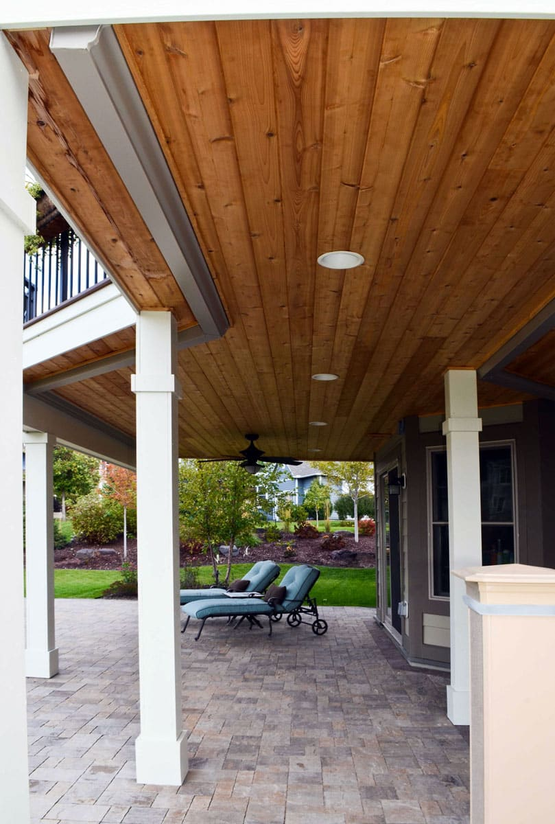 backyard escape deck swimming pool design landscapes unlimited