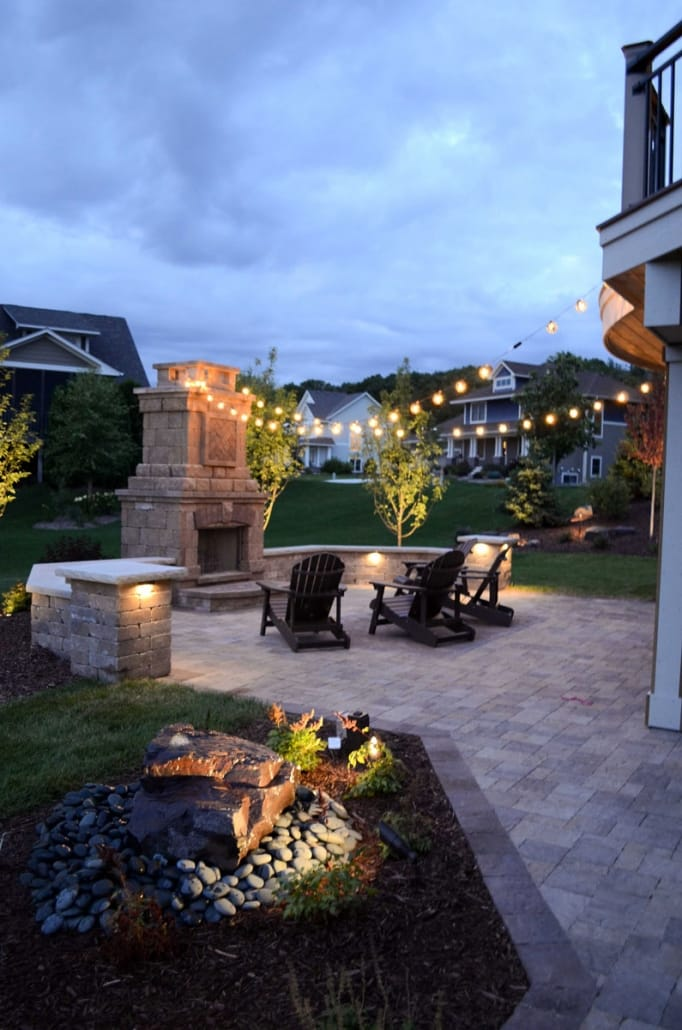 You can appreciate your landscape at all times with stylish accent lighting that keeps your landscape safe to navigate in the evening.