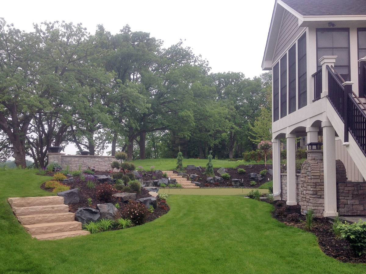 Backyard Escapes Landscaping : Backyard landscaping design escapes minneapolis mn