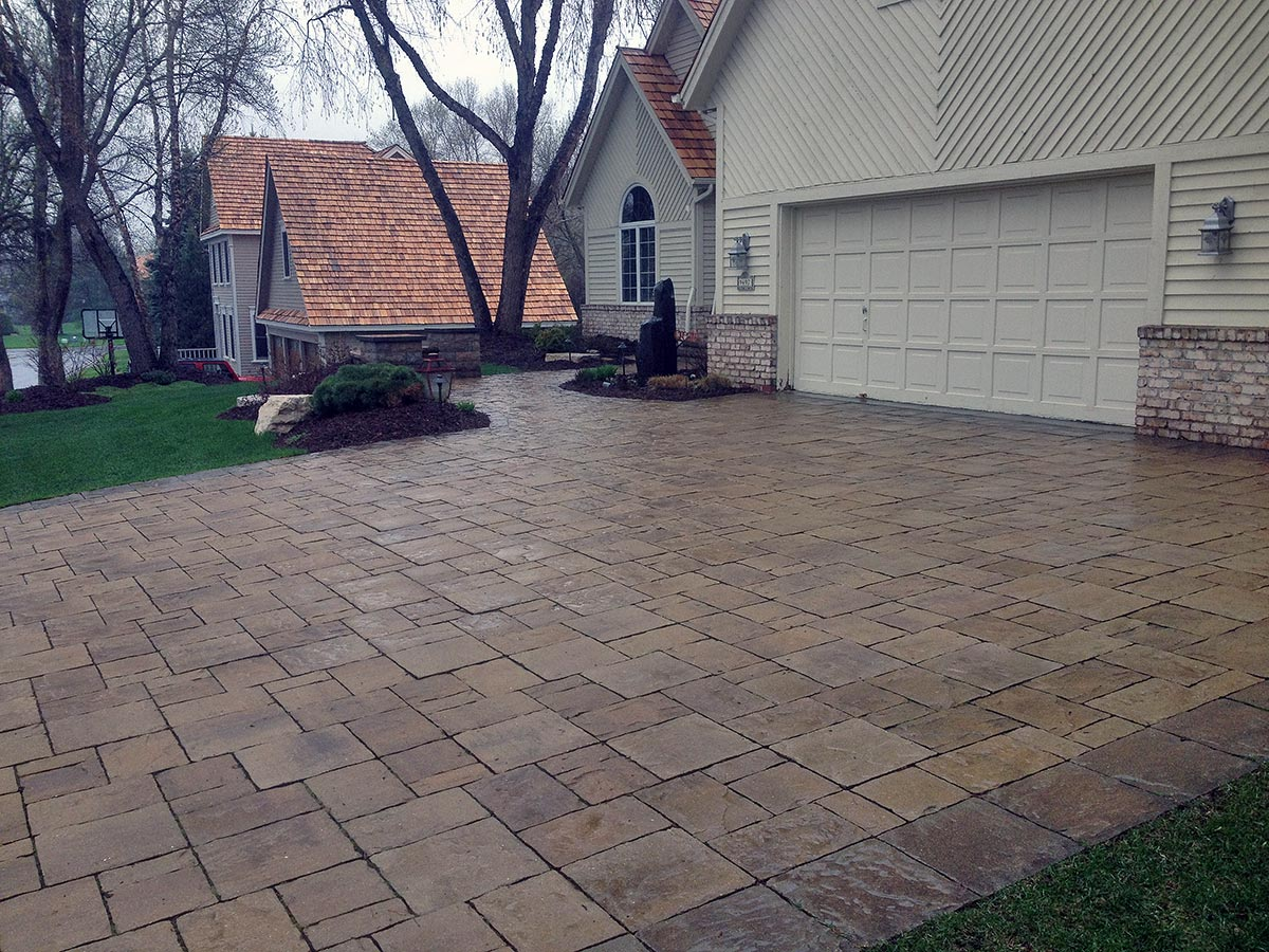 Paver Driveways Landscapes Unlimited