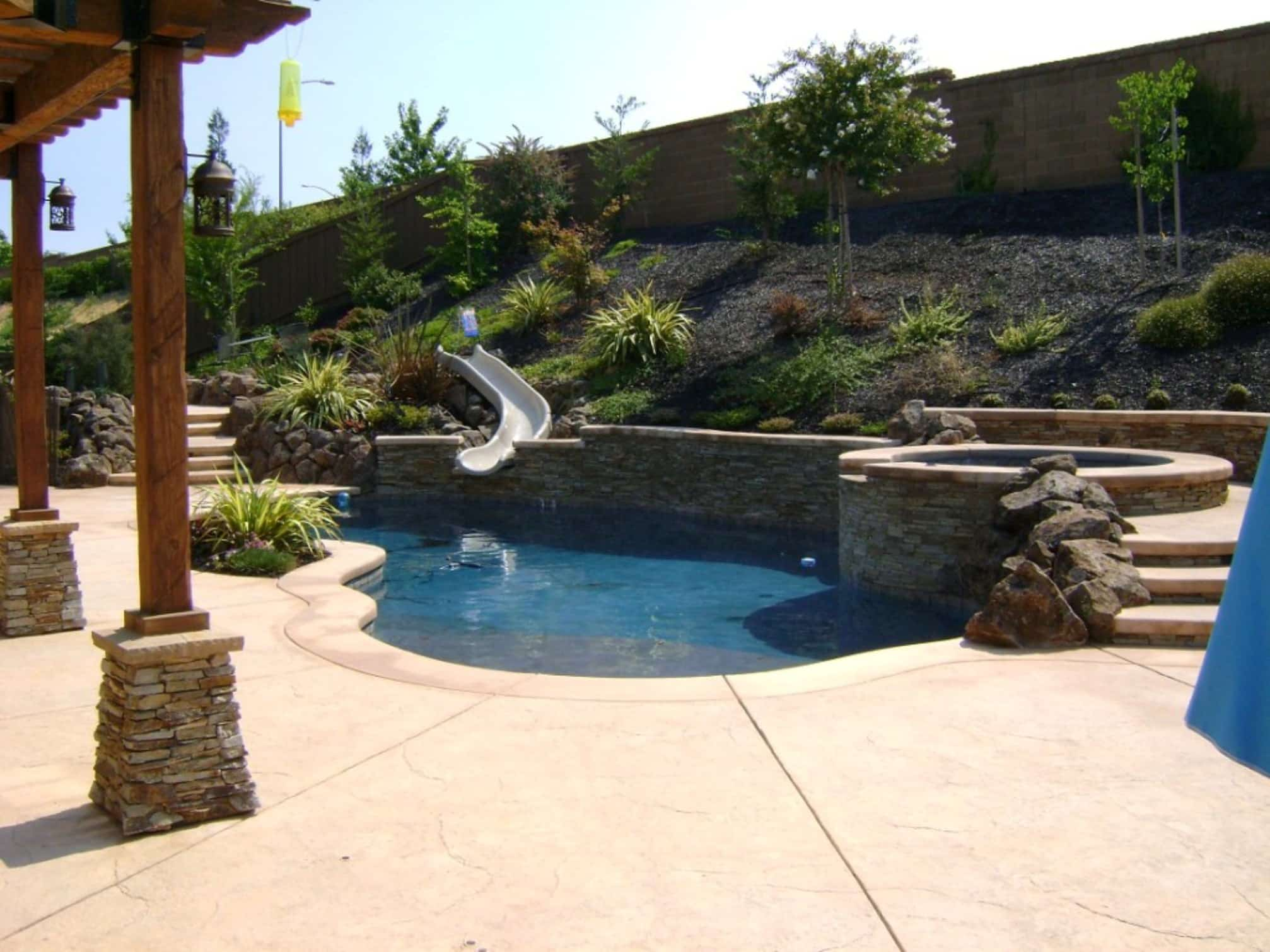 Small Backyard Can Have Pools Too - Landscapes Unlimited