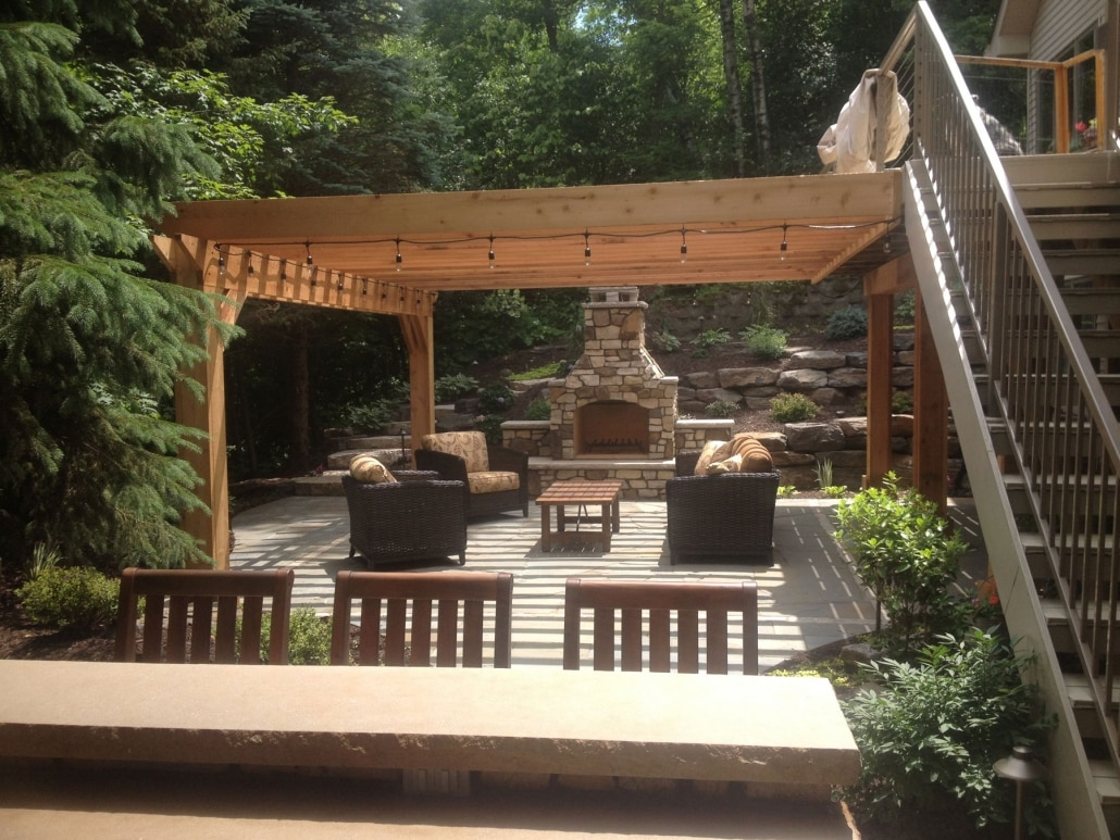 Minnesota Natural Stone Patios