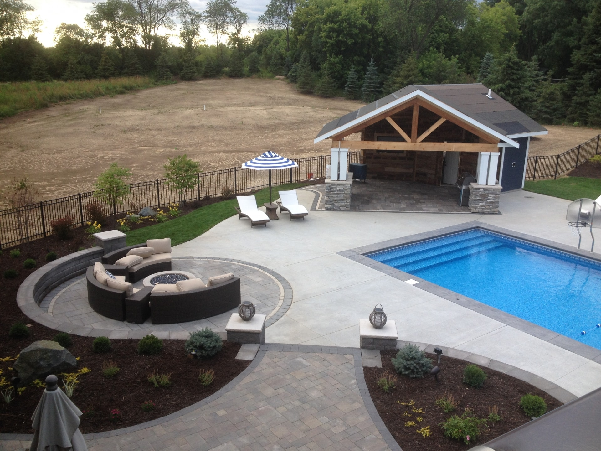 Backyard Escape Woodbury Mn Landscapes Unlimited