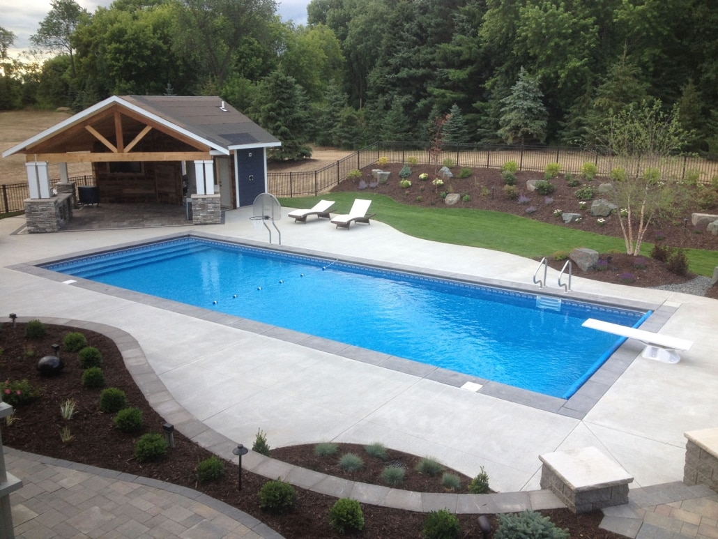 Swimming Pool Design - Landscapes Unlimited