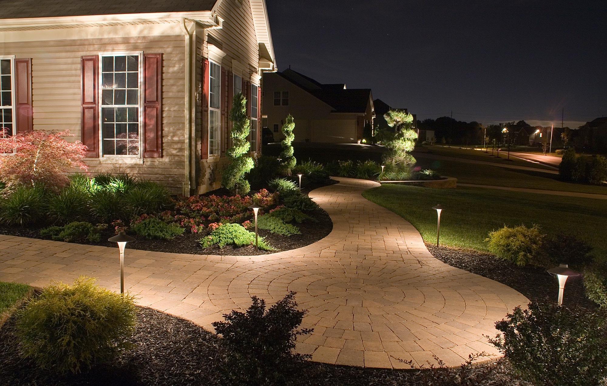 outdoor lighting contractors exterior lighting installation