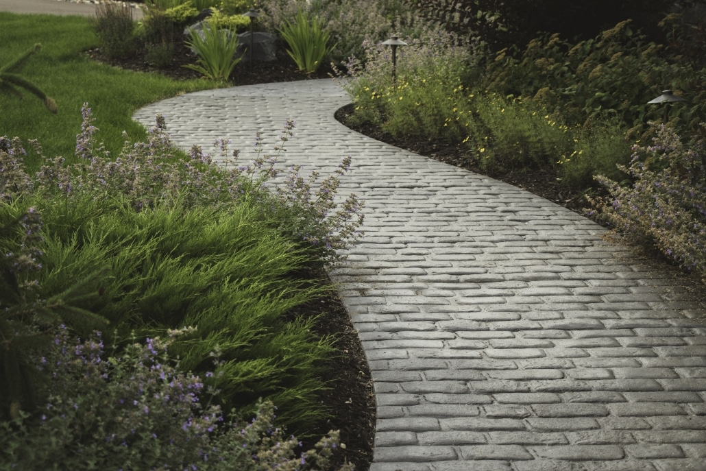 Pavers can have a variety of finishes and uses.